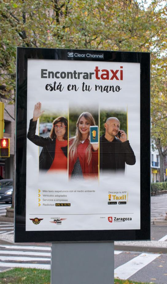MUPI encontrar Taxi Zaragoza