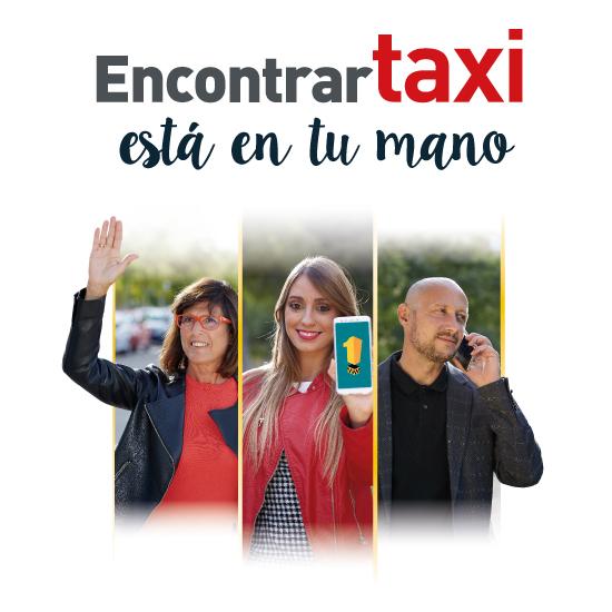 Campaña encontrar Taxi Zaragoza